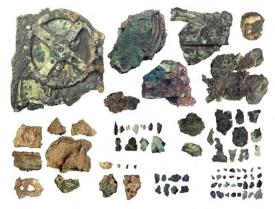 fragments of the Antikythera Mechanism