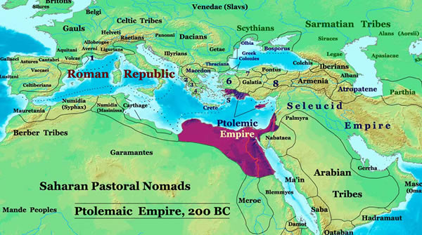 Map of Hellenistic World