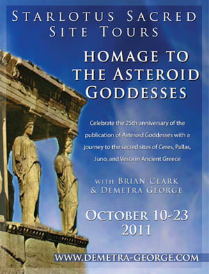 Homage to the Asteroid Goddesses Tour of Greece 2011